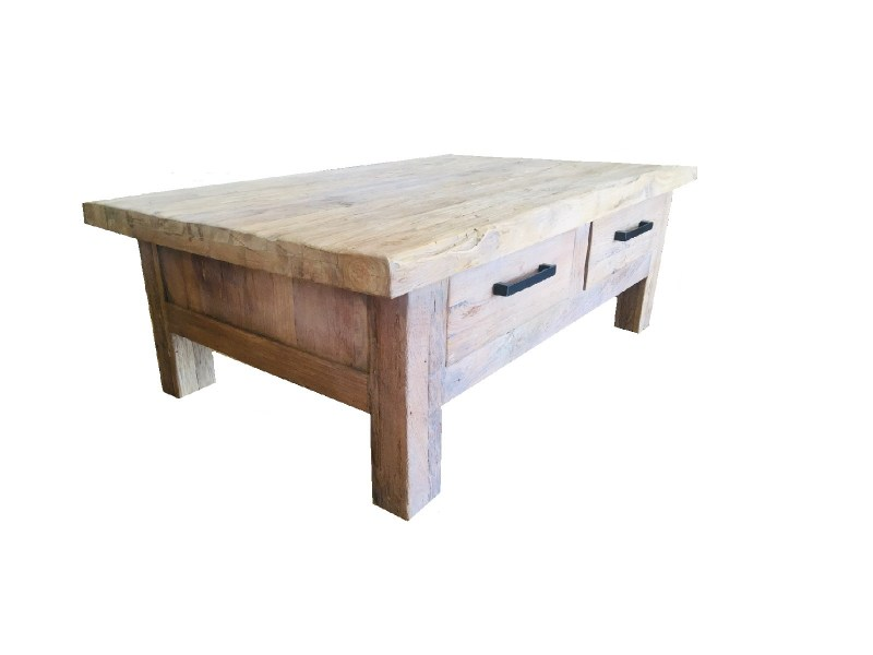 COFFEE TABLE TEAK SKU 63005A 130X80X46CM